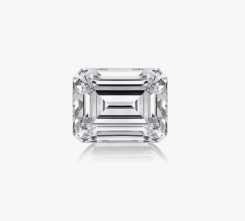 Emerald Diamond 1.04ct E VVS2 Shape IGI Certified CVD TYPE2A