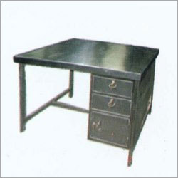 SS Table With Drawer