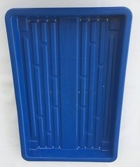 Hydrophnic Growing Trays For Growing Wheat grass blue tray