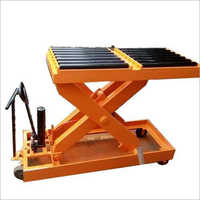 Die Loader Scissor Table