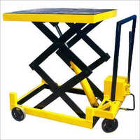 Manual Scissor Lift Table