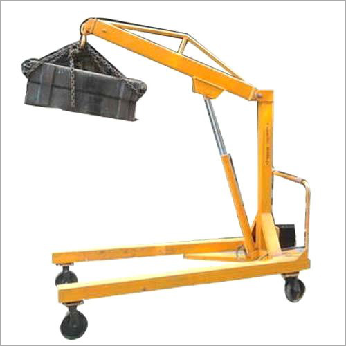 Manual Mobile Floor Crane