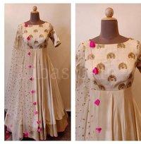 Malbari Silk Gown