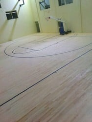 Maple Wood Basketball Court Flooring
