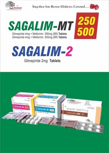 Glimepiride 4mg + Metformin 500mg SR