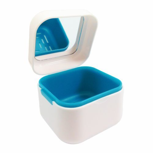 DENTMARK DENTAL DENTURE BOX WITH MIRROR