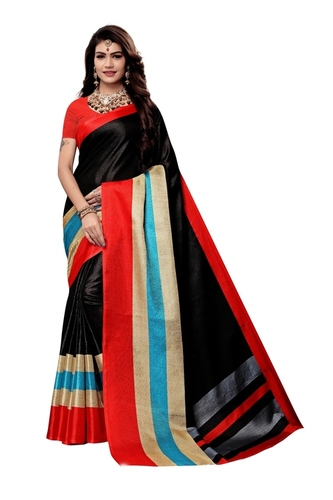 Beautiful Silk Printed Saree