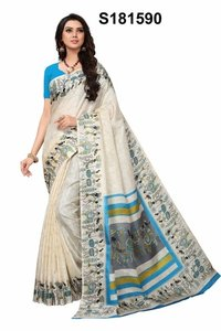 Fancy Khadi Silk Saree