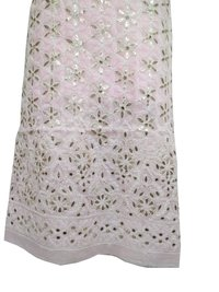 Ethnava Hand Embroidered Pink Gota Patti Cotton 2 Piece Set