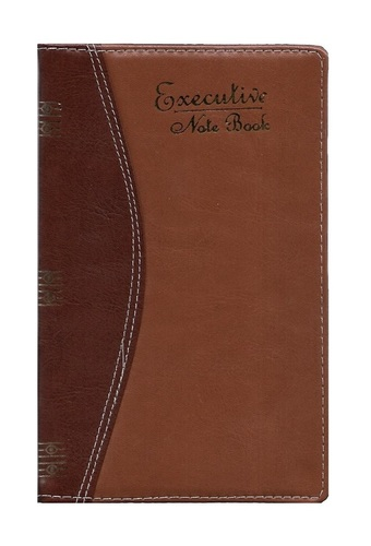 5 Subjects Notebook, Chief Size, Leatherite PU Binding, 320 Pages