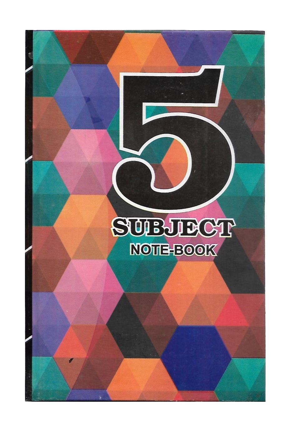 5 Subjects Notebook, Chief Size, Hard Binding, 160Pages & 320Pages