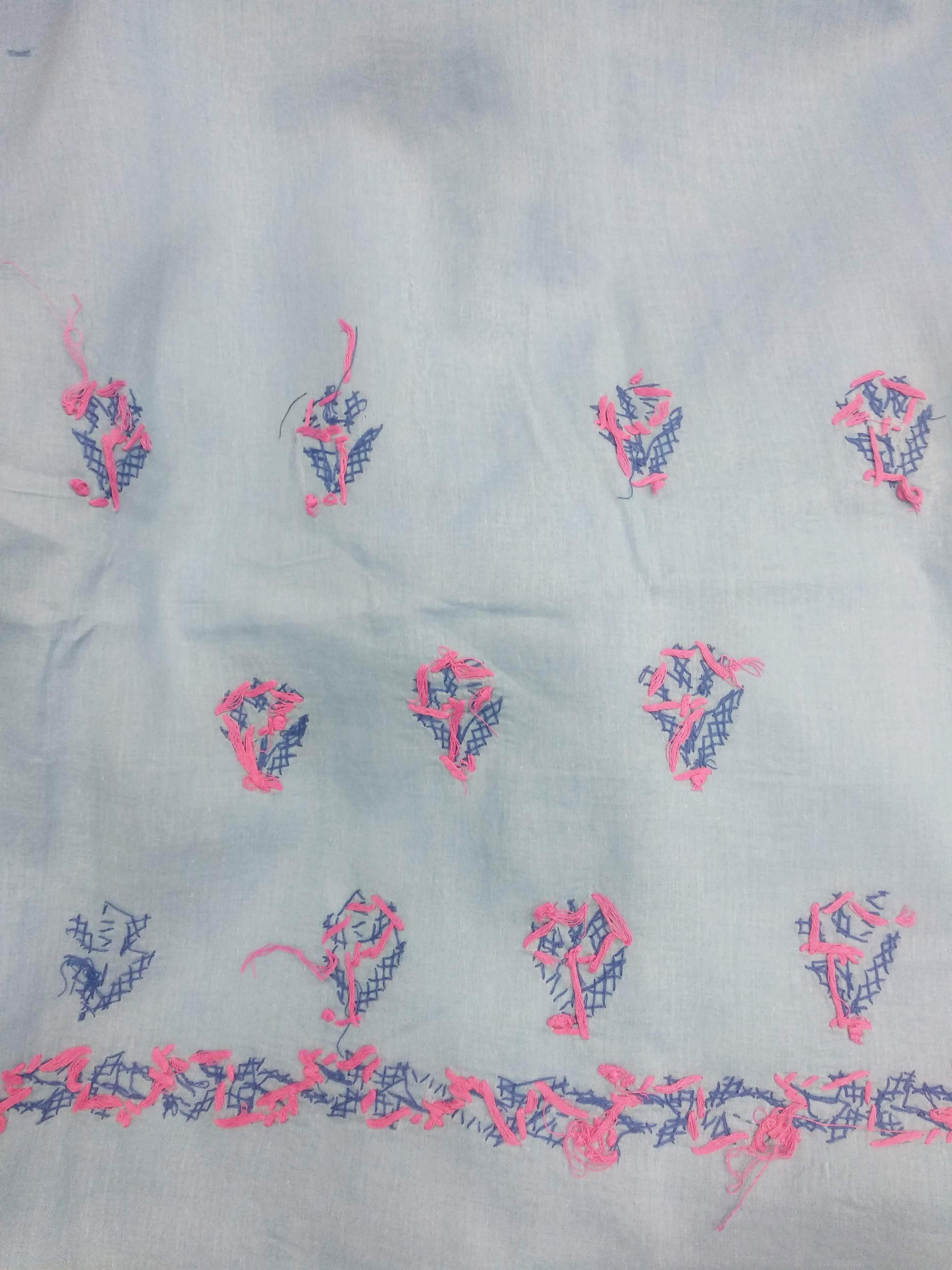 Cotton Suit 3pcs Set