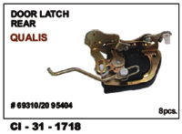 Door Latch Rear Qualis Lh/Rh