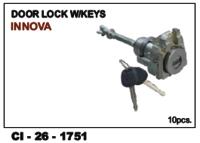 Door Lock W/Keys Innova Lh/Rh