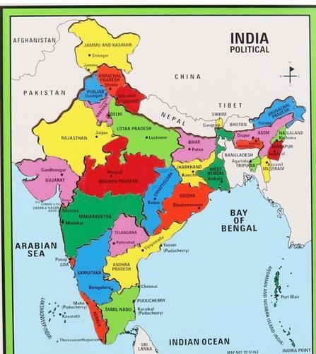 India Map Big Knob