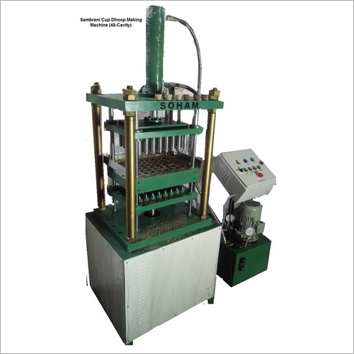 Sambrani Cup Dhoop Making Machine (48-Cavity