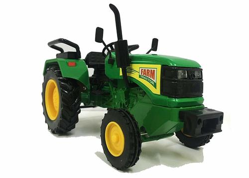 Pull Back Farm Tractor Mini Toy