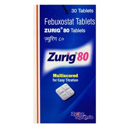 Zurig 80 Tablets