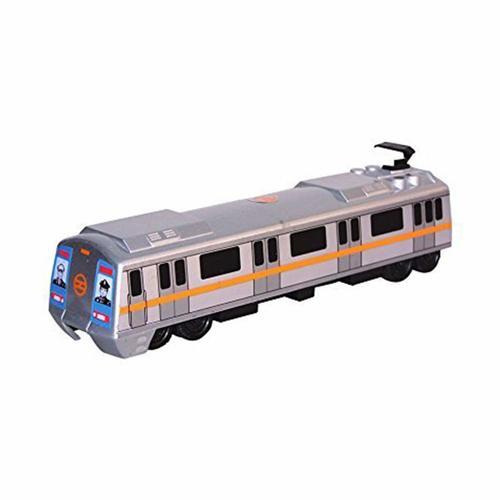 Pull Back Metro Train Toys