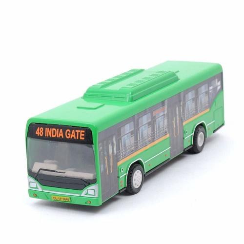 Pull Back Low Floor CNG Bus Toys