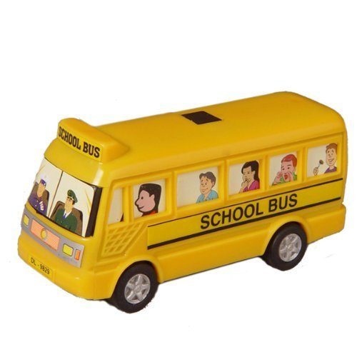 Pull Back Mini School Bus Toy