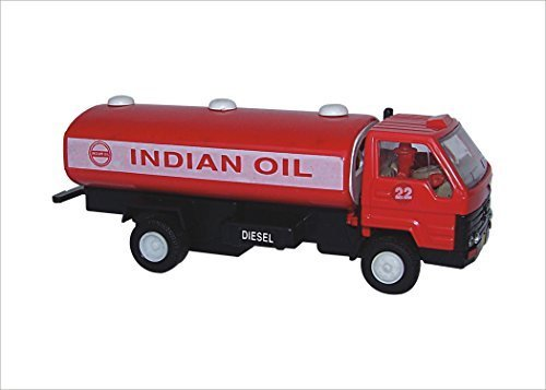 Pull Back Indian Oil Tanker Mini Toy