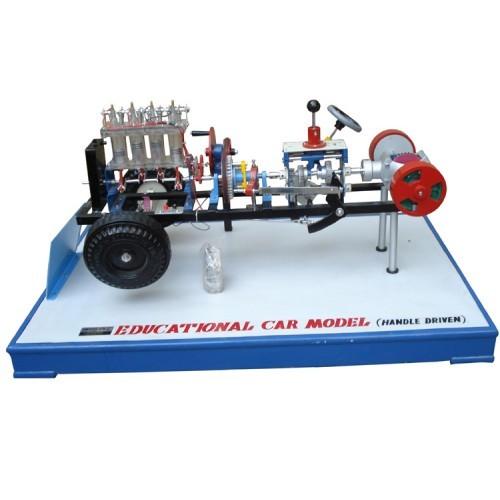 Engine cut section model