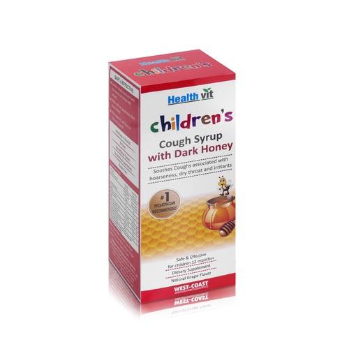 Children's Cough Syrup With Dark Honey