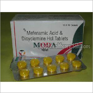 Mefenamic Acid And Dicyclomine HCL Tablet