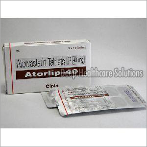 40 mg Atorvastain Tablet IP