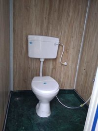 Two Seater Toilet Unit