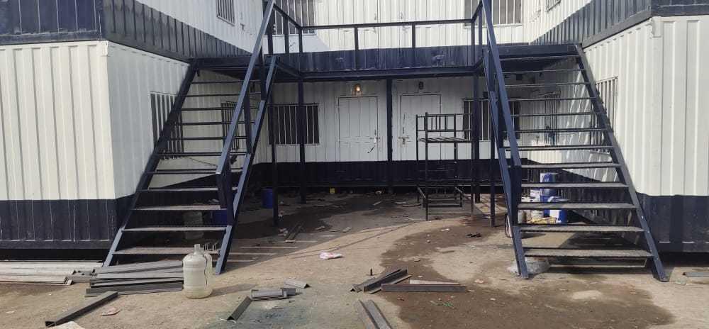 Steel Bunkhouse Cabin