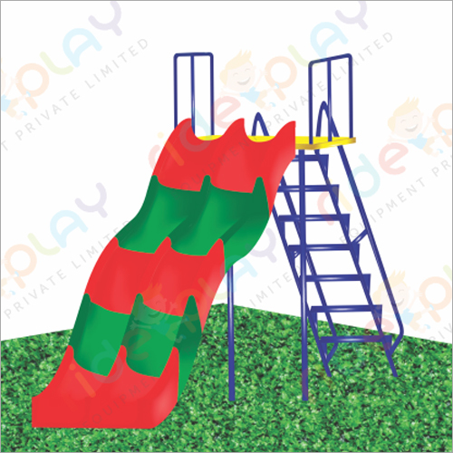Outdoor Double Seater Kids Slide