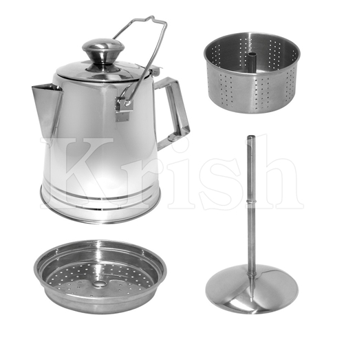 Coffee Percolate Set- 4 Pcs
