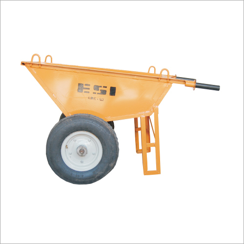 Steel Wheel Barrow Trolley