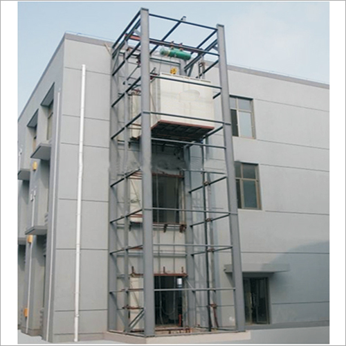 Construction Site Goods Lift