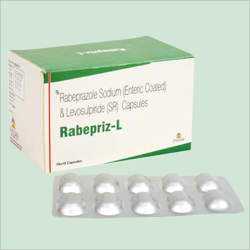 Rabeprazole Sodium Enteric Coated And Levosulpiride SR Capsules