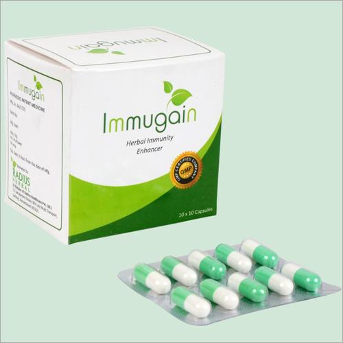 Herbal Immunity Enhancer Capsules