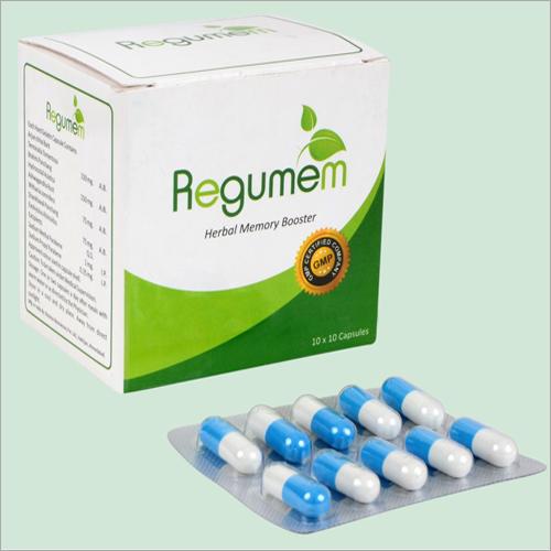 Herbal Memory Booster Capsules