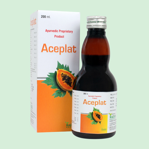 200ml Ayurvedic Proprietory Product Syrup