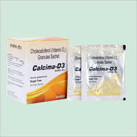 Cholecalciferol Vitamin D3 Granules Sachet