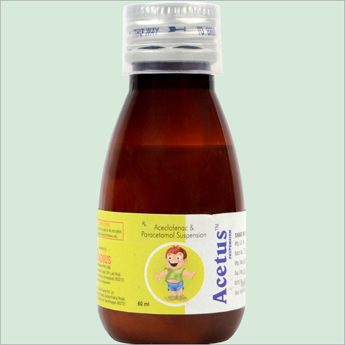 60 ml Acelofenac And Paracetamol Suspension Susp