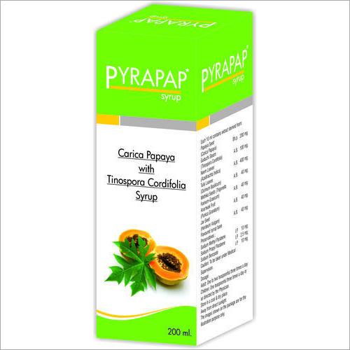 Carica Papaya With Tinospora Cordifolia Syrup