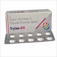 Trypsin - Bromelain & Rutoside Trihydrate Tablets