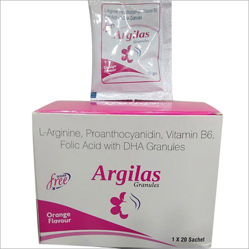 L-Arginine - Proanthocyanidin - Vitamin B6 - Folic Acid with DHA Granules