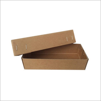 Rectangular Brown Corrugated Tray