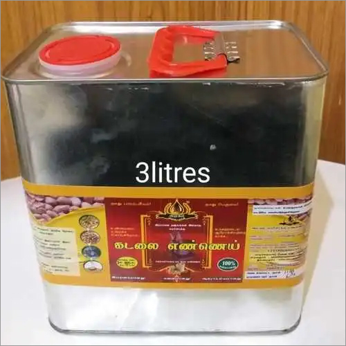 Ground Nut Oil 3 Litre Tin