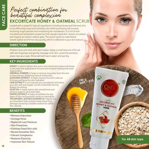 Face  Scrub Golden