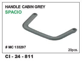 Handle Cabin Grey Spacio #Mc 133297