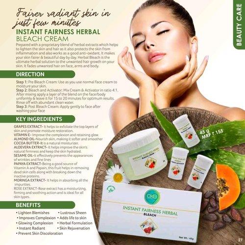 Instant Fairness Herbal Bleach Cream